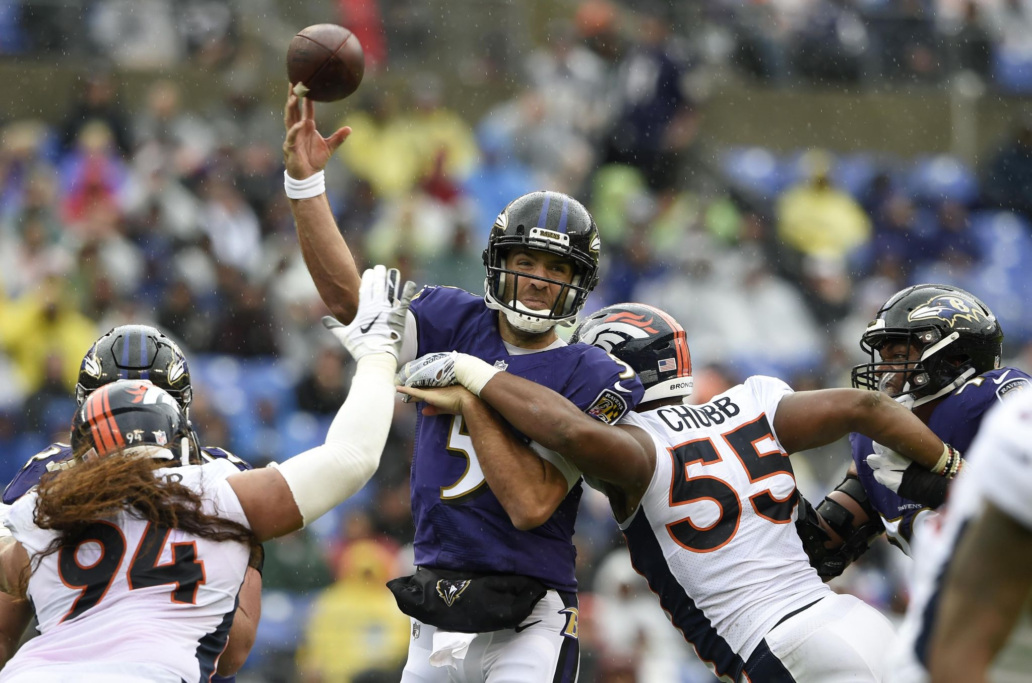 Ravens perfection in red zone ends Broncos' perfect record - Washington Times