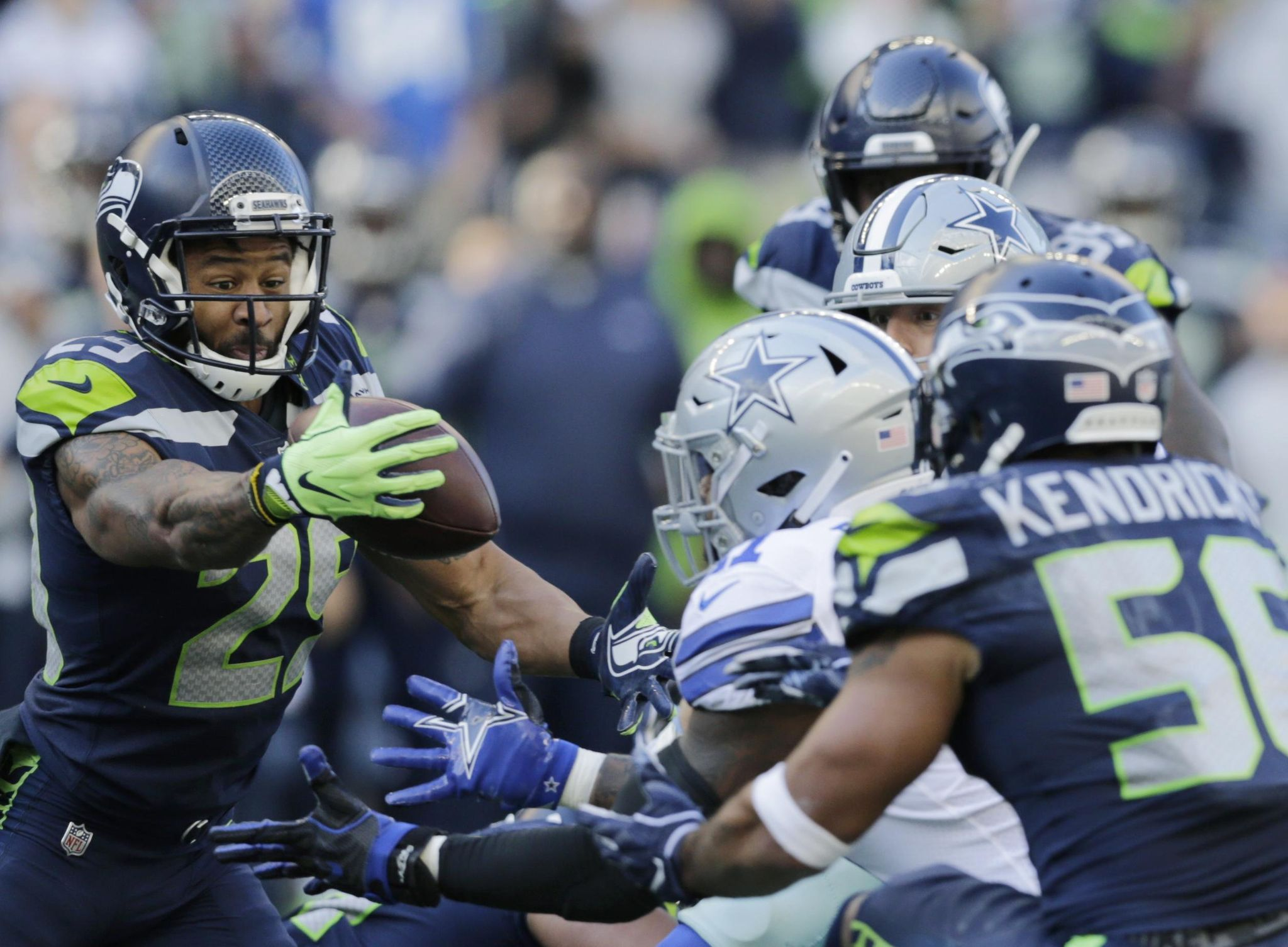 Cowboys' offense can't do enough in 24-13 loss to Seahawks - Washington Times