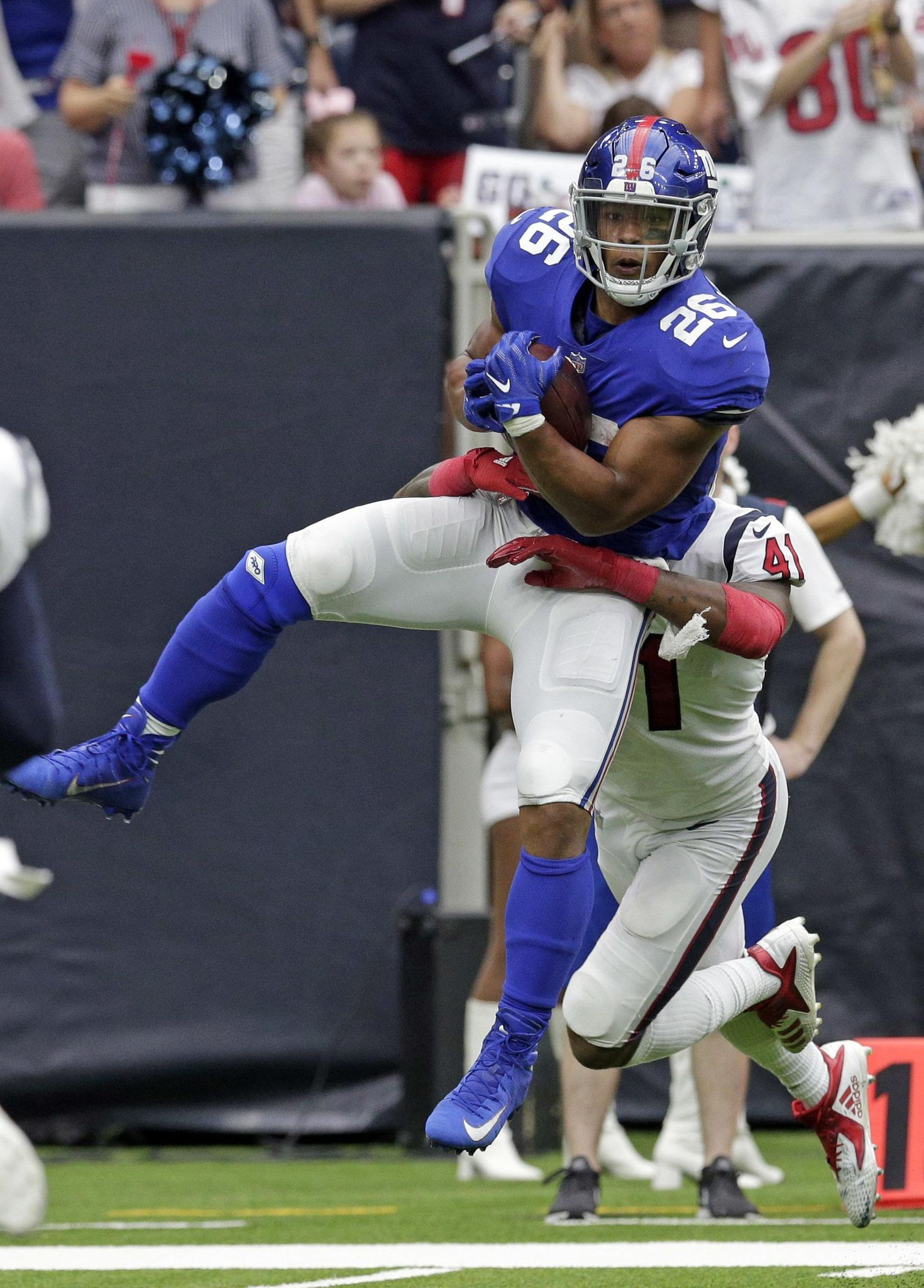 Giants finally finish a game to get 27-22 win over Texans - Washington Times