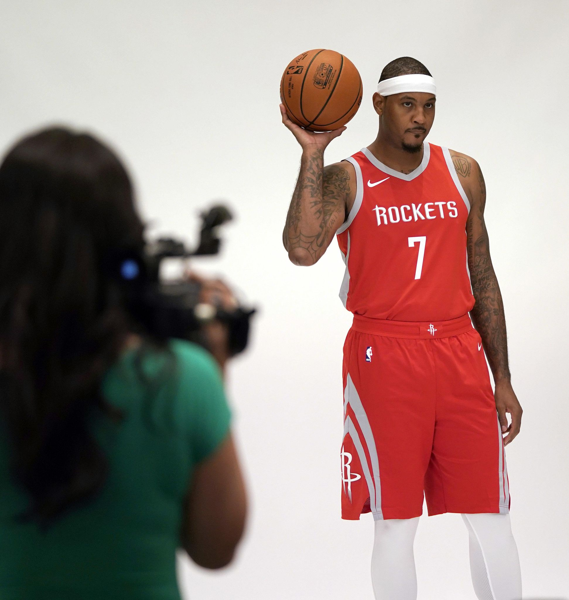 Rockets hope 'Melo can help them to 1st title sinc...