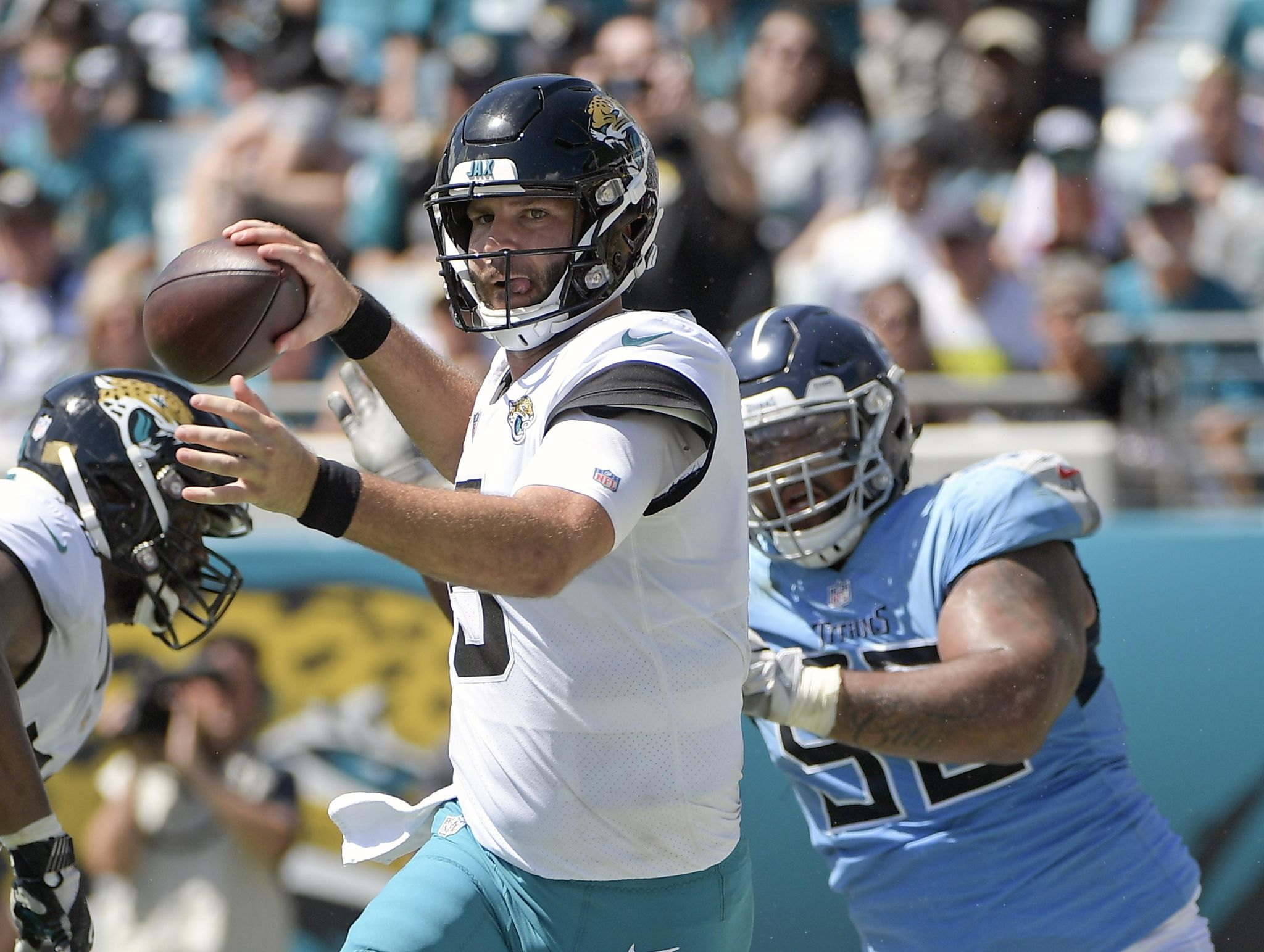 Jaguars 'expressed emotion' after 9-6 loss to rival Titans - Washington Times