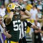 As the NFL places more emphasis on safety, players like Green Bay Packers linebacker Clay Matthews may have to change how they tackle the quarterback. (ASSOCIATED PRESS)