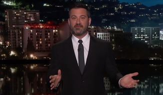 "Comedian Jimmy Kimmel told the audience on his ABC show that Judge Brett Kavanaugh should have his ""pesky penis"" cut off prior to being confirmed for the U.S. Supreme Court, Sept. 24, 2018. (Image: YouTube, ""Jimmy Kimmel Live"" screenshot)"