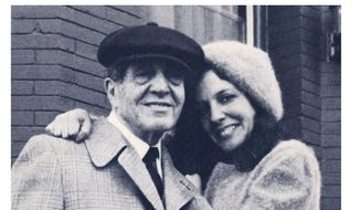 "Suzanne Fields with her father, Samuel ""Bo"" Bregman."