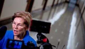 Sen. Elizabeth Warren's bill would leapfrog the ruling and allow the federal government to take 321 acres into trust for a reservation, even though the Mashpee were not recognized until 2007. (Associated Press)