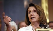 House Minority Leader Nancy Pelosi of Calif., speaks during a news conference about the nomination of Judge Brett Kavanaugh to the Supreme Court on Capitol Hill, Wednesday, Sept. 26, 2018, in Washington. (AP Photo/Alex Brandon) ** FILE **