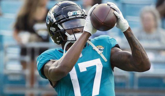 Jaguars rookie receiver Chark says  learning curve is over  - Washington  Times 160c0d37d