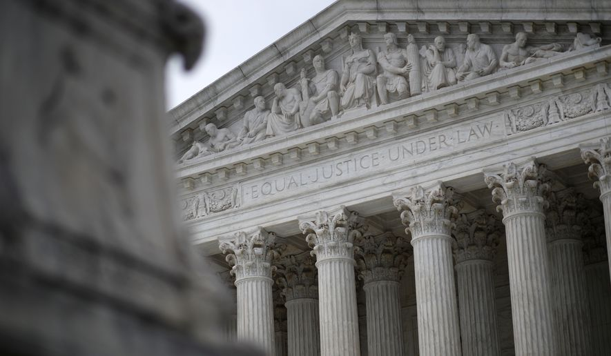 Supreme Court justices convene their 2018-2019 session Monday with far more drama over who will be the ninth member of the court than over the cases on the schedule. (Associated Press/File)