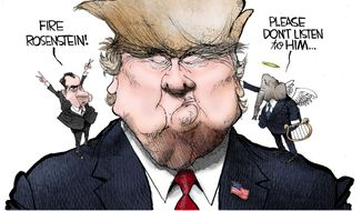 Tooning into President Trump