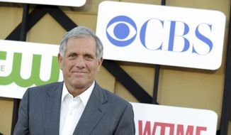 In this July 29, 2013, file photo, Les Moonves arrives at the CBS, CW and Showtime TCA party at The Beverly Hilton in Beverly Hills, Calif. CBS says it has been subpoenaed by a New York City prosecutor for information related to sexual misconduct allegations against its former chairman, Moonves. (Photo by Jordan Strauss/Invision/AP, File)