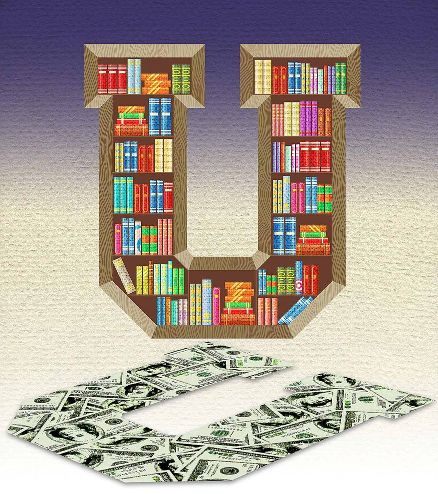 Fixing Higher Education Illustration by Greg Groesch/The Washington Times