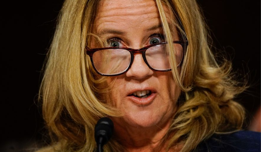 Image result for time christine blasey ford