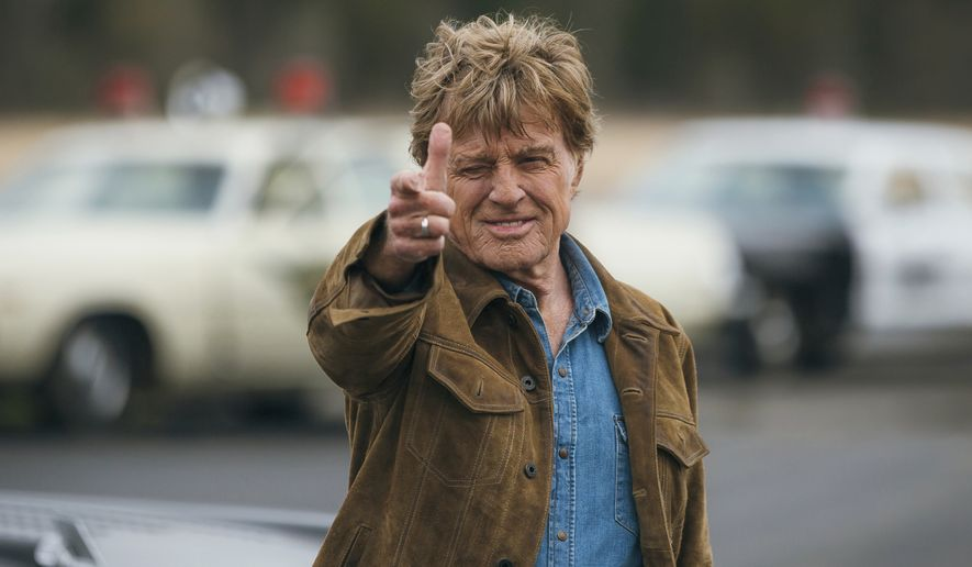 "Actor Robert Redford performs in a scene from the film, ""The Old Man & The Gun."" Redford stars as an aged bank robber in David Lowery's film based-on-a-true-story heist. (Eric Zachanowich/Fox Searchlight via AP)  ** FILE **"