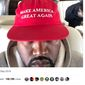 "Entertainer and entrepreneur Kanye West sports a ""MAGA"" hat in a tweet published Sept. 30, 2018. His attached message regarding the Trump administration and American culture prompted actor Chris Evans to call him ""retrogressive"" and ""terrifying."" (Image: Twitter, Kanye West) ** FILE **"