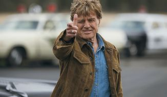 """This image released by Fox Searchlight shows Robert Redford in a scene from the film, """"The Old Man & The Gun."""" Redford stars as an aged bank robber in David Lowery's film based-on-a-true-story heist. (Eric Zachanowich/Fox Searchlight via AP)"""