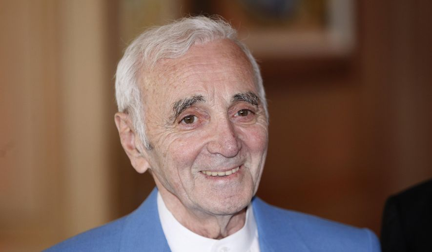 Charles Aznavour, French singer and actor, dies at age 94