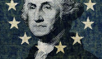 George Washington the Patriot Illustration by Greg Groesch/The Washington Times