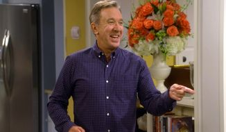 "This image released by Fox shows Tim Allen in a scene from ""Last Man Standing,"" which reached 8.1 million viewers on Fox last Friday night. (Fox via AP)"