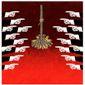 Illustration on the Kavanaugh hysteria by Alexander Hunter/The Washington Times