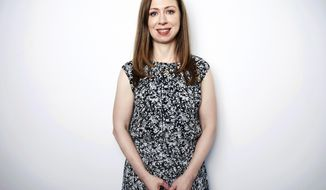 "Chelsea Clinton poses for a portrait on Tuesday, Oct. 2, 2018, in New York to promote her book, ""Start Now!: You Can Make a Difference."" (Photo by Taylor Jewell/Invision/AP)"