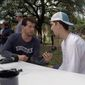 """Texas Christian University has denounced conservative podcaster Steven Crowder and offered counseling for students offended by his """"change my mind"""" event earlier this week. (Twitter/@scrowder)"""