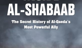 "This cover image released by Indiana University Press shows ""Inside Al-Shabaab: The Secret History of Al-Qaeda's Most Powerful Ally,"" by Harun Maruf and Dan Joseph. (Indiana University Press via AP)"