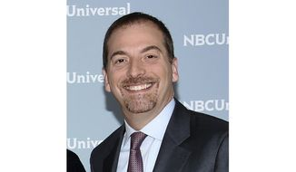 """Meet the Press"" moderator Chuck Todd attends the 2018 NBCUniversal Upfront in New York, in this May 14, 2018 file photo. (Photo by Evan Agostini/Invision/AP) ** FILE **"