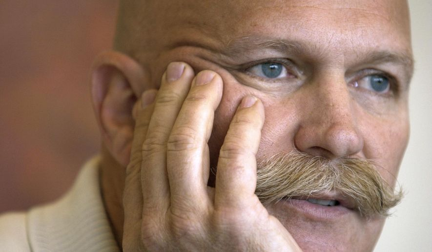 This undated photo shows Will Vinton, an, an Oscar-winning animator who invented Claymation, a style of stop-motion animation, and brought the California Raisins to TV, died Thursday, IOct. 4, 2018, following a lengthy battle with multiple myeloma in Oregon. He was 70. (The Oregonian via AP)
