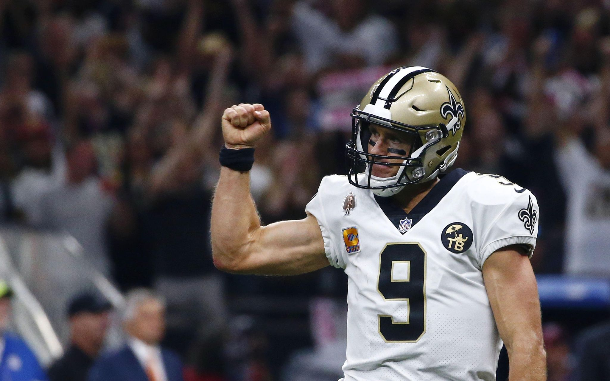 Drew Brees breaks all-time passing yards mark - Washington Times