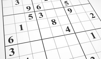 Sudoku (Shutterstock)