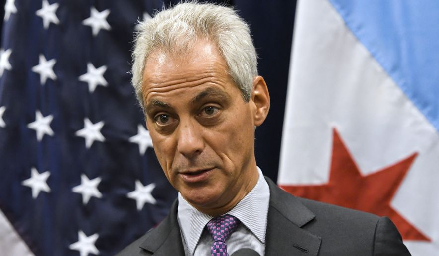 A spokesman for Chicago Mayor Rahm Emanuel said the consent decree has public safety benefits and included input from the public and police officers. (Associated Press)