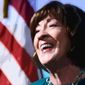 Sen. Susan Collins Photo Illustration by Greg Groesch/The Washington Times