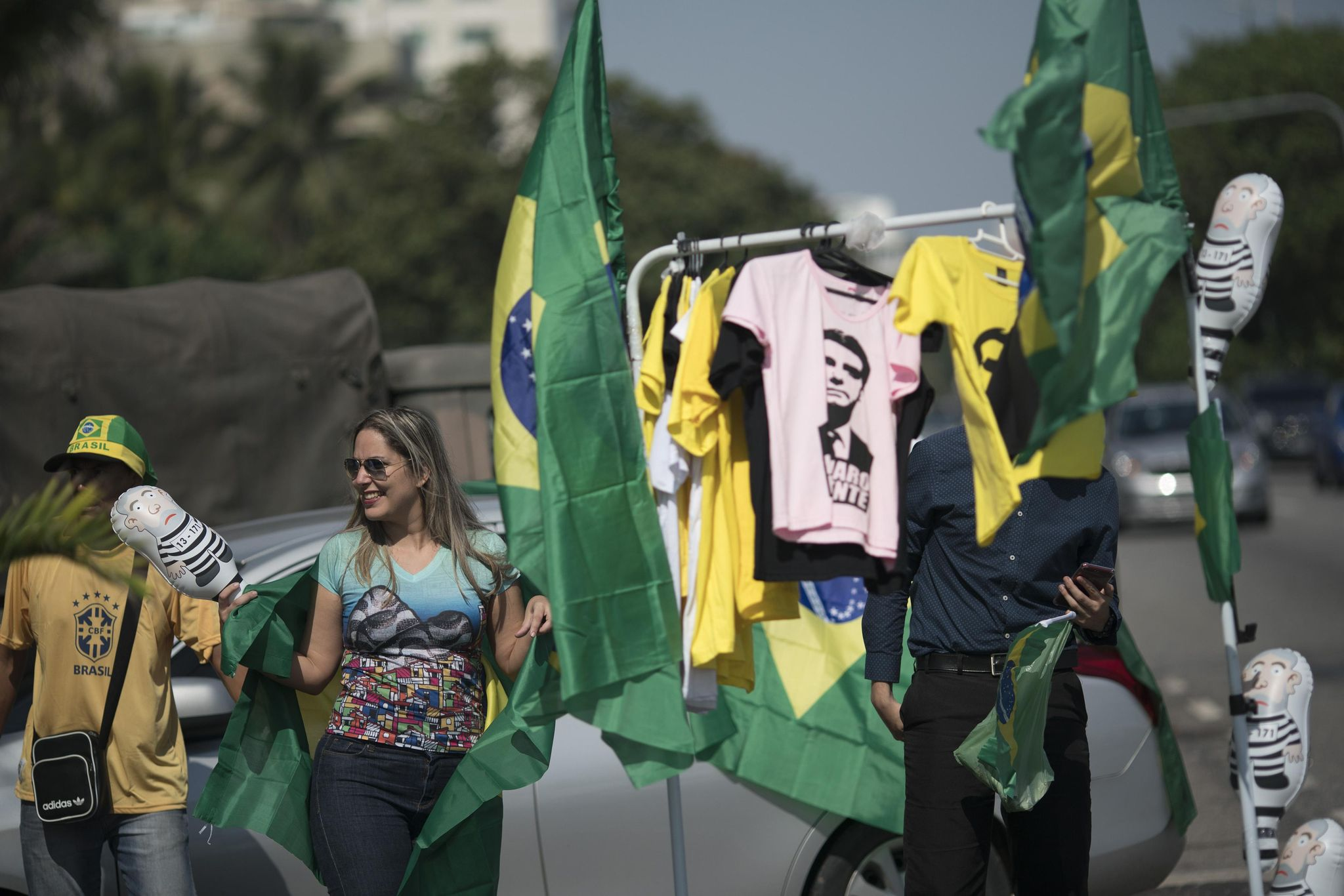 Amid violence, Brazil presidential candidates call for calm - Washington Times