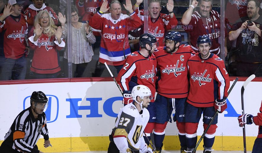 0bf067811a2 Kuznetsov s 4-point night helps Capitals beat Golden Knights ...