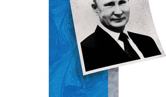 Sweet on Putin Illustration by Greg Groesch/The Washington Times