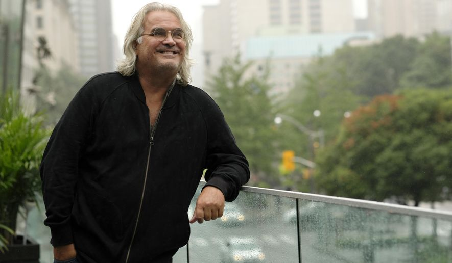 "This Sept. 10, 2018 photo shows filmmaker Paul Greengrass posing for a portrait at the Shangri-La Hotel to promote his film ""22 July,"" during the Toronto International Film Festival in Toronto. (Photo by Chris Pizzello/Invision/AP)"