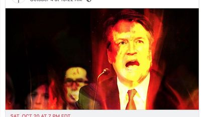Occultists in Brooklyn, N.Y., are gathering on Oct. 20, 2018, to place a hex on Supreme Court Justice Brett M. Kavanaugh. (Image: Facebook, Catland, events page)
