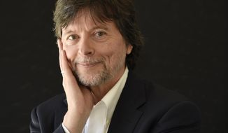 FILE - In this July 28, 2017, file photo, documentary filmmaker Ken Burns poses for a portrait during the 2017 Television Critics Association Summer Press Tour in Beverly Hills, Calif. Burns is being honored in Philadelphia with an award from the Museum of the American Revolution.The museum announced Thursday that Burns will receive the Gerry Lenfest Spirit of the American Revolution Award on April 11. (Photo by Chris Pizzello/Invision/AP, File)