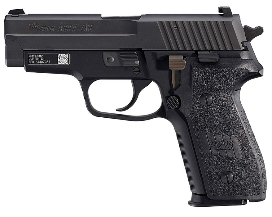 M11 is a US military designation of the SIG Sauer P228 pistol. In the early 1990s this pistol has been adopted by the US military