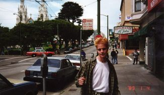 This 1989 photo provided by the Matthew Shepard Foundation shows Matthew Shepard in San Francisco. The murder of  Shepard, a gay University of Wyoming student, was a watershed moment for gay rights and LGBTQ acceptance in the U.S., so much so that 20 years later the crime remains seared into the national consciousness. (Dennis Shepard/The Matthew Shepard Foundation via AP)