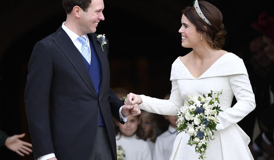 Uk Fans Flocked To Tv To Watch Princess Eugenie S Wedding Washington Times