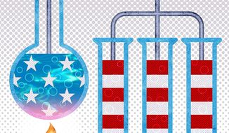 The Great American Experiment Illustration by Greg Groesch/The Washington Times