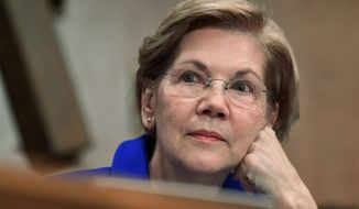 Sen. Elizabeth Warren. (Associated Press) ** FILE **