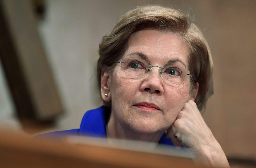 Sen. Elizabeth Warren, Massachusetts Democrat (Associated Press) **FILE**