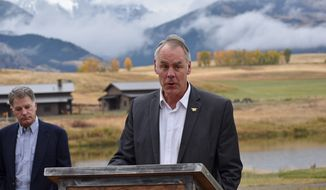 Interior Secretary Ryan Zinke wants to use military bases in Alaska and other  Pacific states as hubs for exporting fuel. (Associated Press)