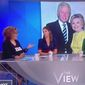 "Comedian Joy Behar told her audience on ABC's ""The View"" that former Secretary of State Hillary Clinton resorts to ""whataboutism"" when asked about the Monica Lewinsky scandal, Oct. 15, 2018. (Image: ABC, ""The View"" screenshot)"