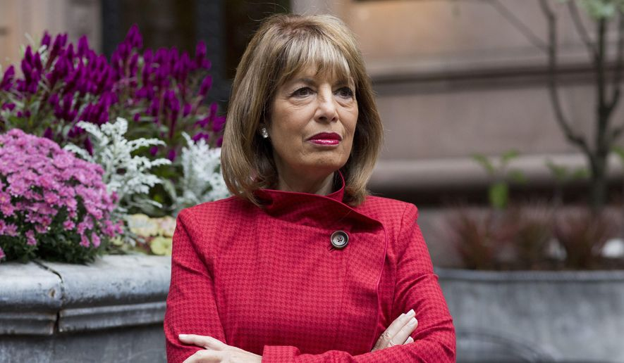 In this Oct. 15, 2018, photo, Rep. Jackie Speier (D-Calif.) poses for a portrait in New York. (AP Photo/Mark Lennihan) **FILE**