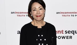 """FILE - In this July 17, 2017 file photo, journalist Ann Curry attends a special screening of """"An Inconvenient Sequel: Truth To Power""""  in New York. Curry has agreed to anchor a Turner series that describes people with mysterious medical ailments, in the hope of reaching doctors or patients who have seen something similar and gotten help. Curry said Monday, Oct. 15, 2018, that she hoped real good can come from the series, tentatively titled """"M.D. Live."""" TNT will air 10 episodes of the series sometime next year, each of them two hours. (Photo by Evan Agostini/Invision/AP, File)"""