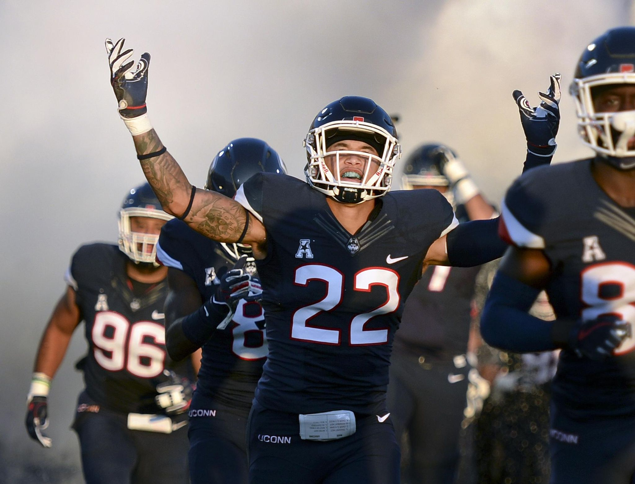UConn linebacker hospitalized after suffering stroke - Washington Times