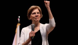 Sen. Elizabeth Warren, Massachusetts Democrat, took the DNA test President Trump urged. According to the DNA test results she does have an American Indian ancestor -- six to 10 generations ago. Shes hitting back in personal terms, calling him creepy on Twitter, in real time. And shes not backing down. When it comes to challenging the man who redefined the rules of American political combat, Warren in some ways is doing it Trumps way. Shes getting some backlash from Native Americans and grumbling from Democrats whod rather be talking about toppling Congress Republican majorities in the midterm elections three weeks away. (AP Photo/Charles Krupa, File ) (Associated Press)